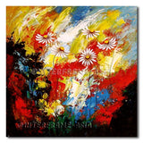 Daisies - Painting On Canvas at INTERFRAME-ASIA