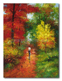 INTO THE TREES - Painting On Canvas at INTERFRAME-ASIA