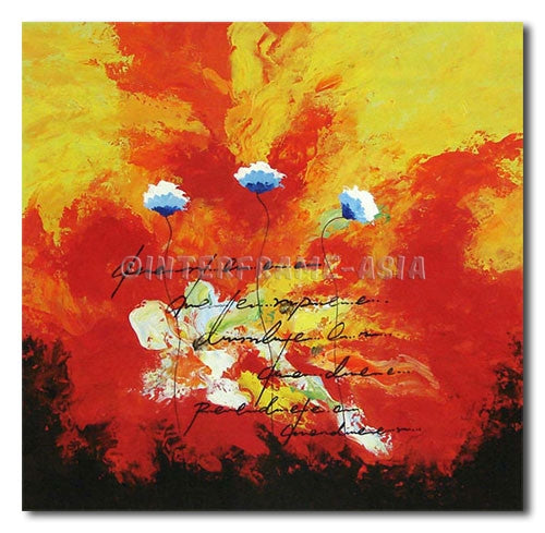 LIGHT DAISIES - Painting On Canvas at INTERFRAME-ASIA