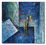 BLUE FAMILY - Painting On Canvas at INTERFRAME-ASIA