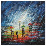 RAINY DAY - Painting On Canvas at INTERFRAME-ASIA