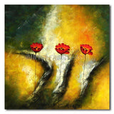 DISTINCT POPPIES - Painting On Canvas at INTERFRAME-ASIA