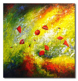 PROUD POPPIES - Painting On Canvas at INTERFRAME-ASIA