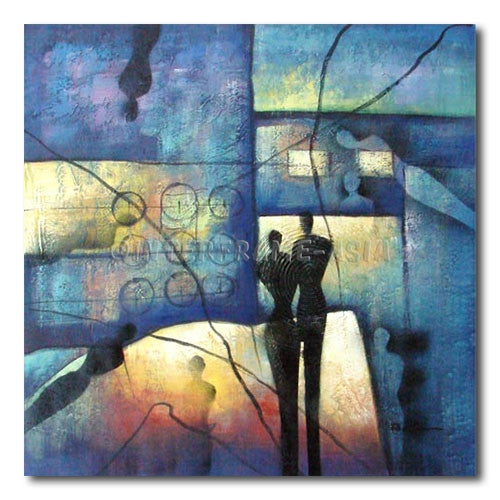 COUPLES  SHADOW - Painting On Canvas at INTERFRAME-ASIA