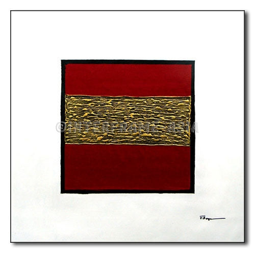 Gold Tone - Painting On Canvas at INTERFRAME-ASIA