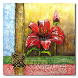 Mother Flower - Painting On Canvas at INTERFRAME-ASIA