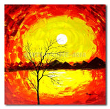 High Noon Tree - Painting On Canvas at INTERFRAME-ASIA