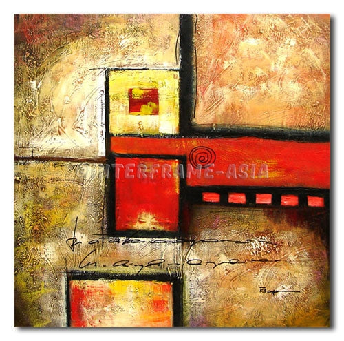 Tiles and Colors - Painting On Canvas at INTERFRAME-ASIA