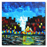 Lake City - Painting On Canvas at INTERFRAME-ASIA