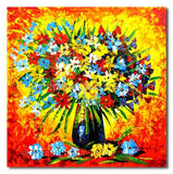 Buckeye of Flowers - Painting On Canvas at INTERFRAME-ASIA