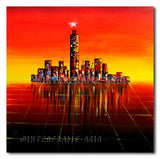 Star City - Painting On Canvas at INTERFRAME-ASIA