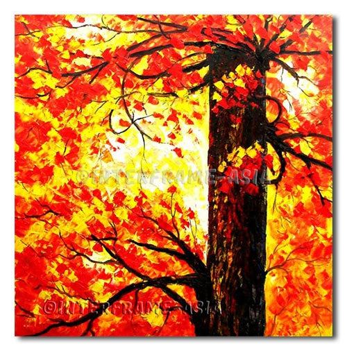 Above the Tree - Painting On Canvas at INTERFRAME-ASIA
