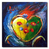 Inside my Heart - Painting On Canvas at INTERFRAME-ASIA