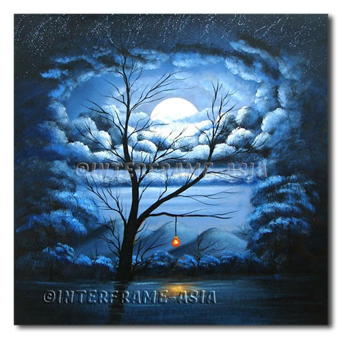 Columbus Tree - Painting On Canvas at INTERFRAME-ASIA