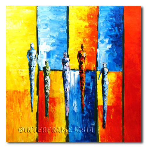 Stripe Model - Painting On Canvas at INTERFRAME-ASIA