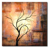 Soul and Tree - Painting On Canvas at INTERFRAME-ASIA