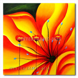 Poppies on Flower - Painting On Canvas at INTERFRAME-ASIA