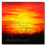 Flying Into The Sunset - Painting On Canvas at INTERFRAME-ASIA