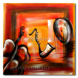 Surreal Band - Painting On Canvas at INTERFRAME-ASIA