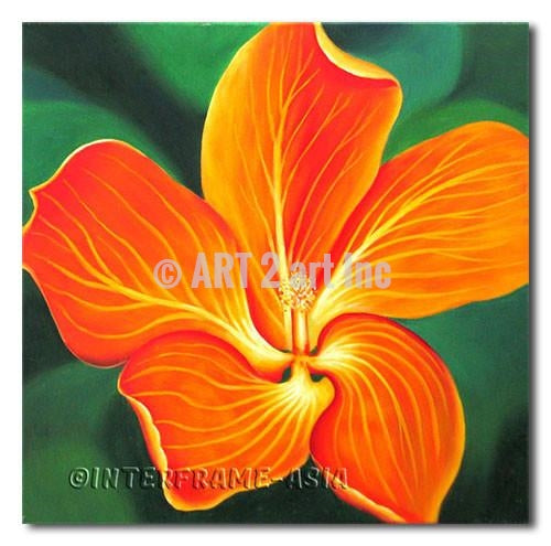 """Lily Flower"" - Painting On Canvas at INTERFRAME ASIA by INTERFRAME ASIA"