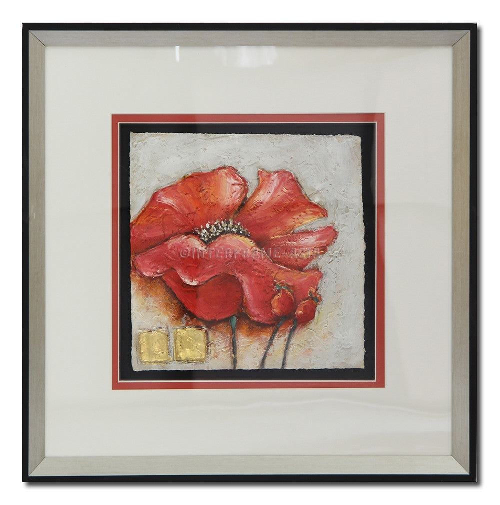 Poppies in Frame