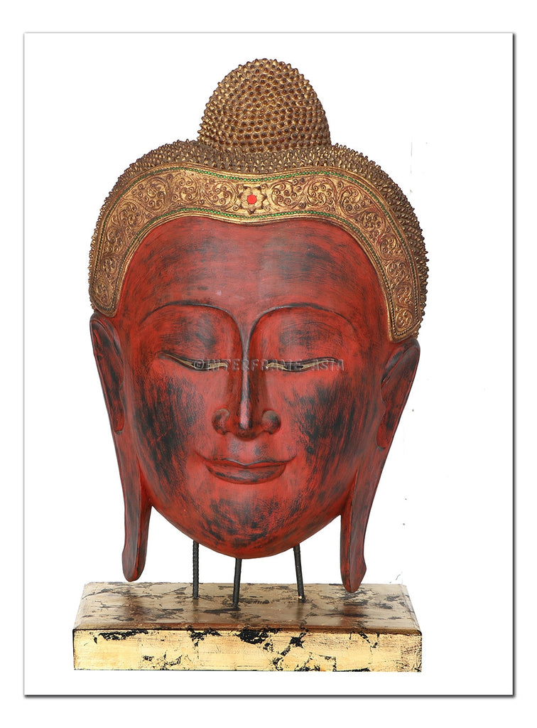 Buddha Head Sculpture II