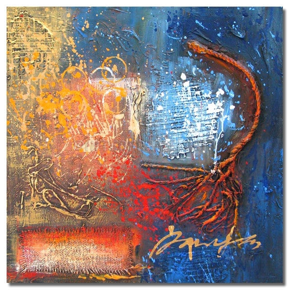 L-0001T - Painting On Canvas at INTERFRAME-ASIA