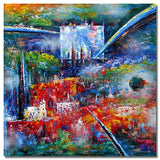 L-1231 - Painting On Canvas at INTERFRAME-ASIA