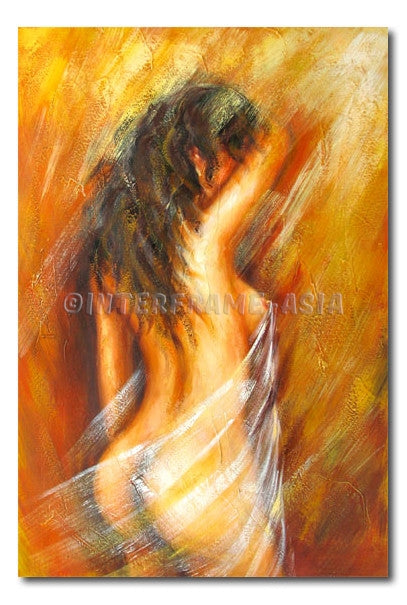 Nude Sensation #7 - Painting On Canvas at INTERFRAME-ASIA