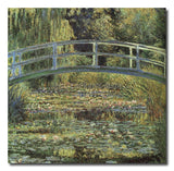 The Japanese Footbridge - Painting On Canvas at INTERFRAME-ASIA