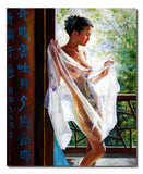 Nude Morning - Painting On Canvas at INTERFRAME-ASIA