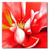 Amaryllis - Painting On Canvas at INTERFRAME-ASIA