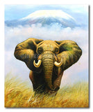 King Elephant - Painting On Canvas at INTERFRAME-ASIA
