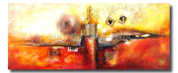 RD-0226T-70X170 - Painting On Canvas at INTERFRAME-ASIA