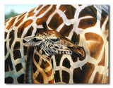 Baby Giraffe - Painting On Canvas at INTERFRAME-ASIA