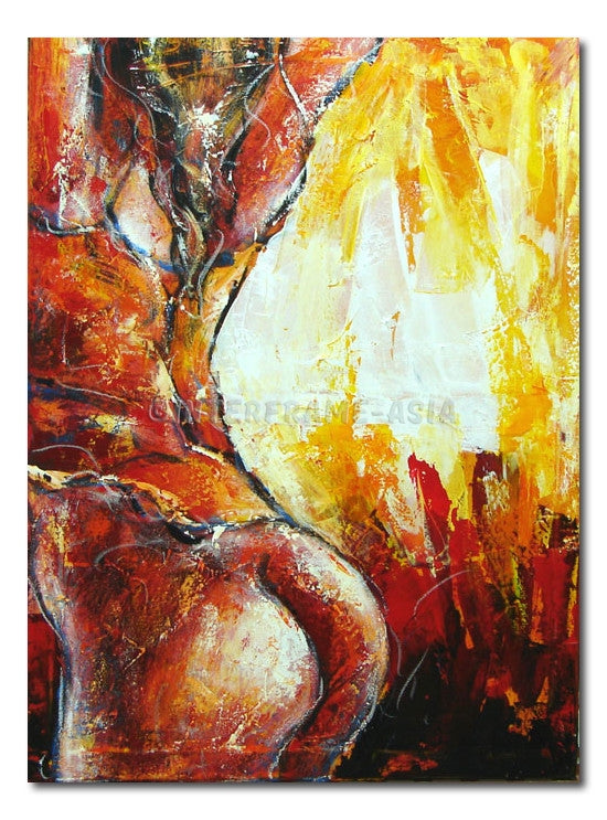 Nude Sensation #12 - Painting On Canvas at INTERFRAME-ASIA