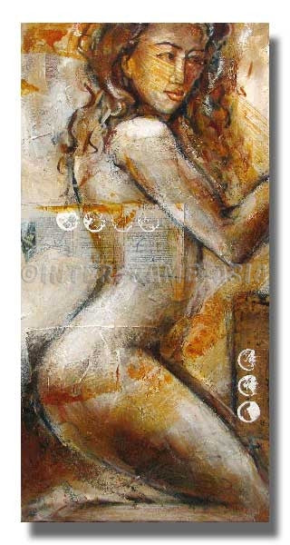RD-31650 - Painting On Canvas at INTERFRAME-ASIA