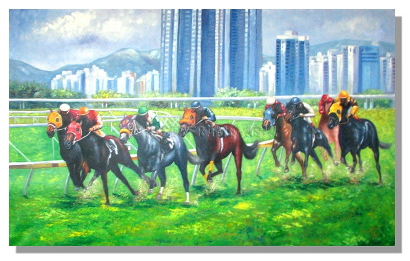 RD-411708 - Painting On Canvas at INTERFRAME-ASIA