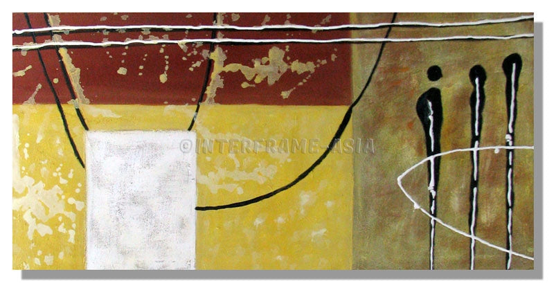 RD-412508 - Painting On Canvas at INTERFRAME-ASIA