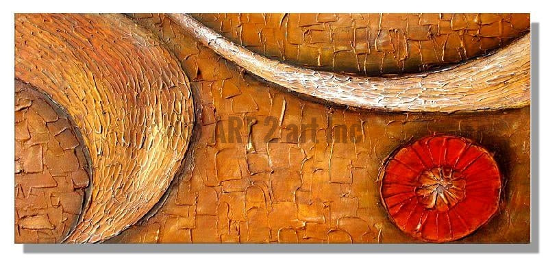 RD-4212T-50X100 - Painting On Canvas at INTERFRAME-ASIA