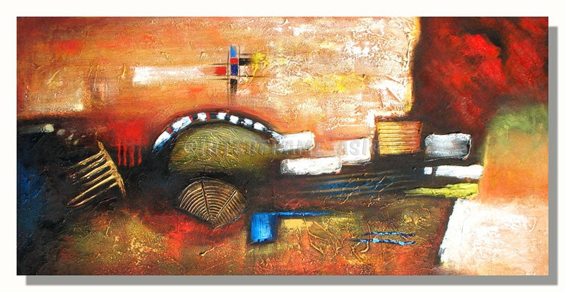 RD-4272-50X100 - Painting On Canvas at INTERFRAME-ASIA