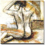 RD-4277T80X80 - Painting On Canvas at INTERFRAME-ASIA