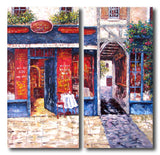 RD-4290-30X70X2 - Painting On Canvas at INTERFRAME-ASIA