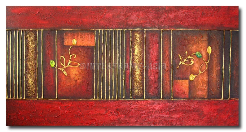 RD-4369T-60X100 - Painting On Canvas at INTERFRAME-ASIA