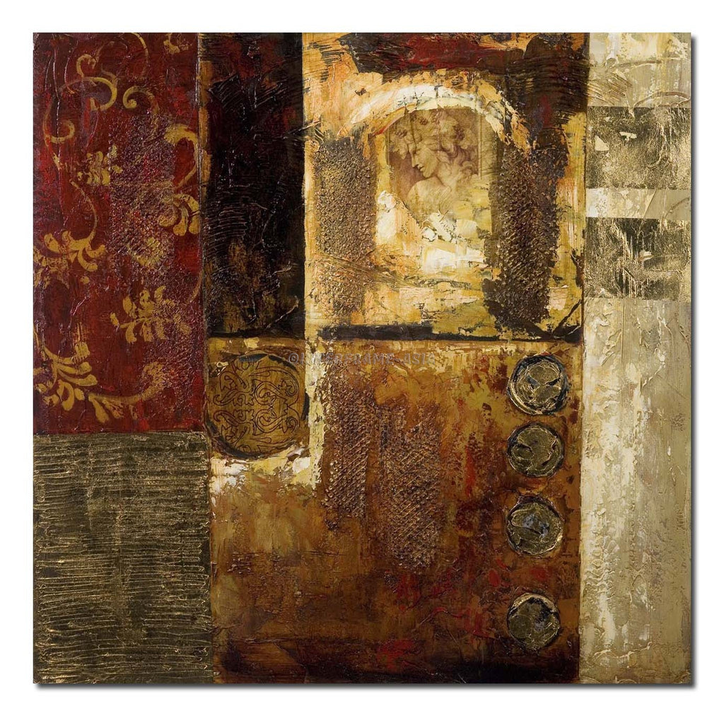 RD-5102 - Painting On Canvas at INTERFRAME-ASIA