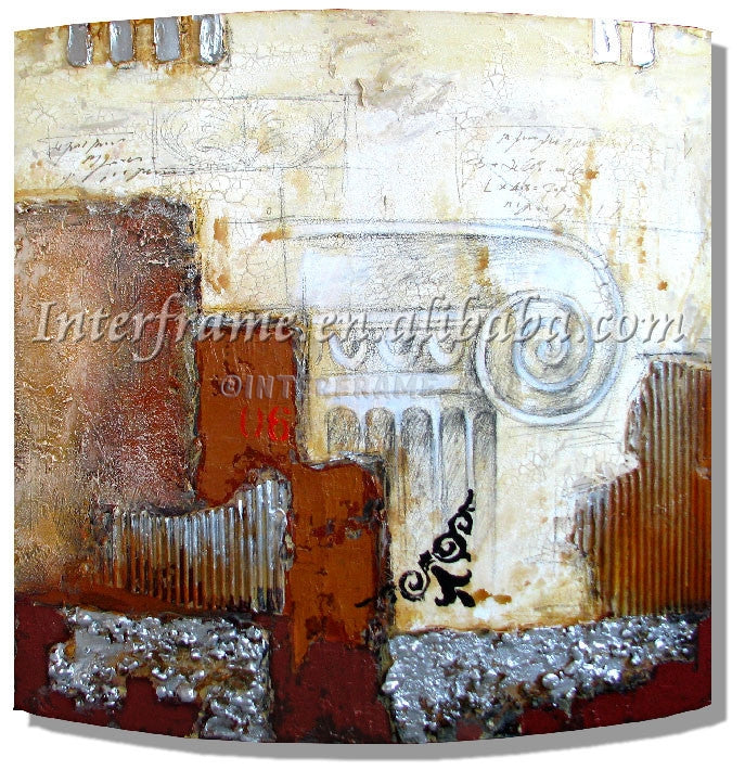 RD-5284W - Painting On Canvas at INTERFRAME-ASIA