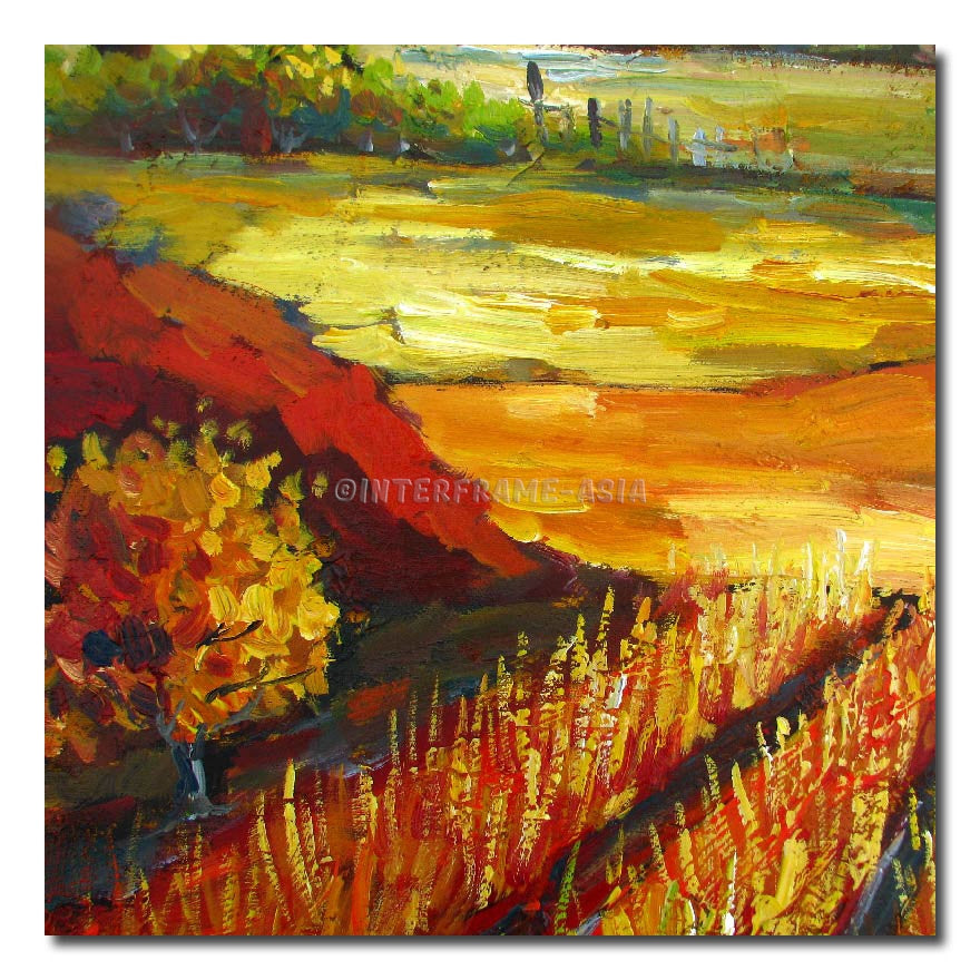 RD-5304T - Painting On Canvas at INTERFRAME-ASIA
