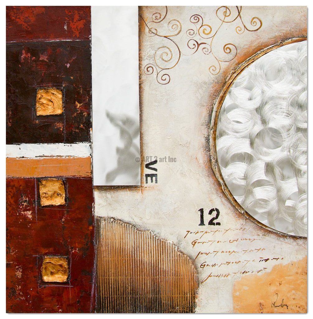 RD-7029M-32x32x1.5inch - Painting On Canvas at INTERFRAME-ASIA