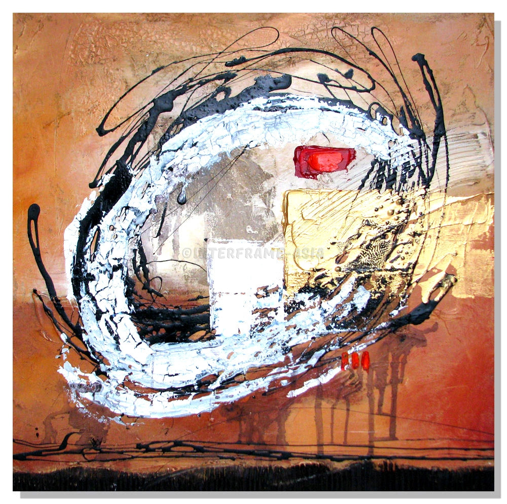 RD-7034BT-32X32 - Painting On Canvas at INTERFRAME-ASIA
