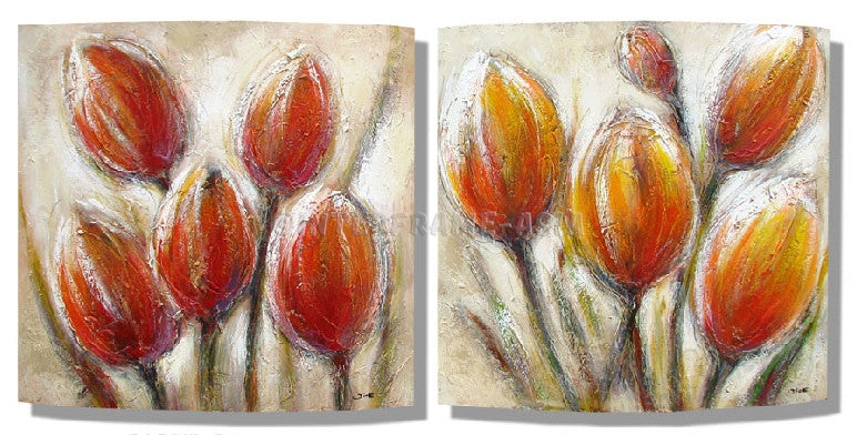 RD-8103W--RD-8102W-20X20 - Painting On Canvas at INTERFRAME-ASIA